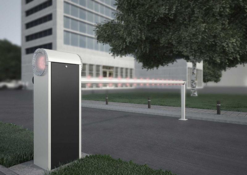 Marantec Schranke PA4 inkl. 4 m Alu-Rundbaum inkl. LED-Set 2-seitig