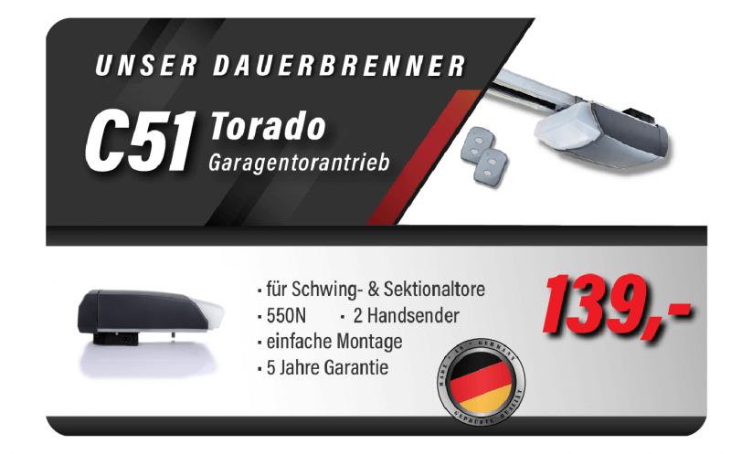 Torado C51 Garagentorantrieb