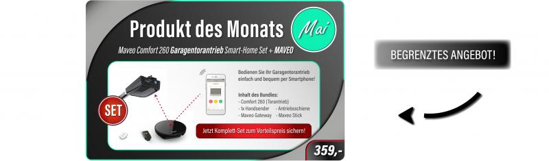 Smart-Home Set Marantec Comfort 260 + Maveo