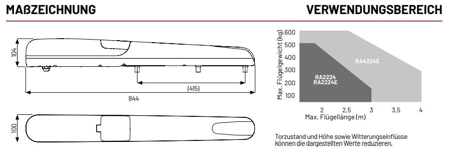 Marantec-Comfort-KRA4224E-Masszeichnung