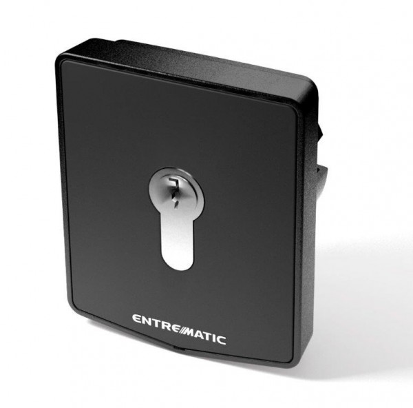 Normstahl Schlüsseltaster Unterputz