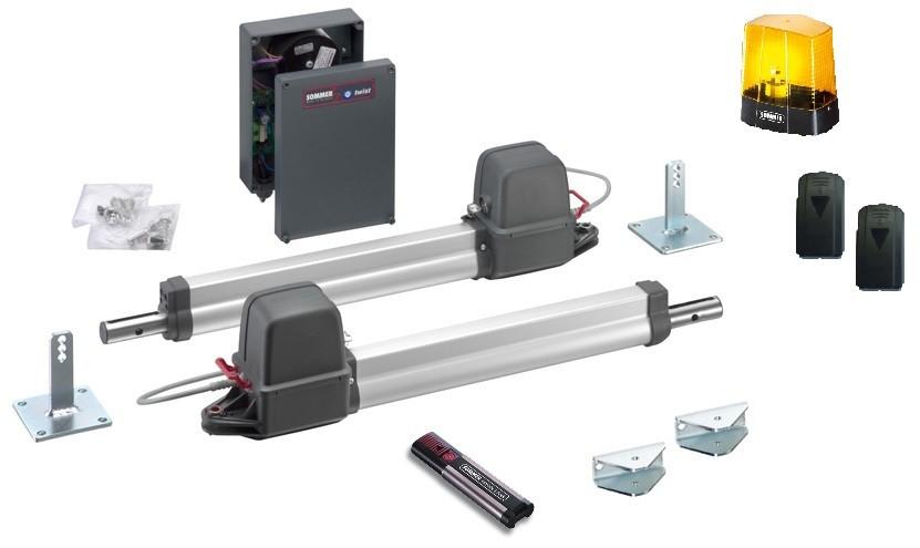 Sommer Drehtorantrieb Twist 200 E 2-flügelig Premium-Set