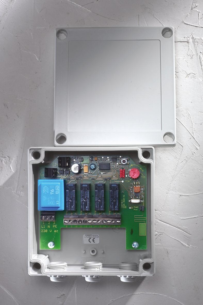 Sommer Funkempfänger 4-Befehl 868,8 MHz