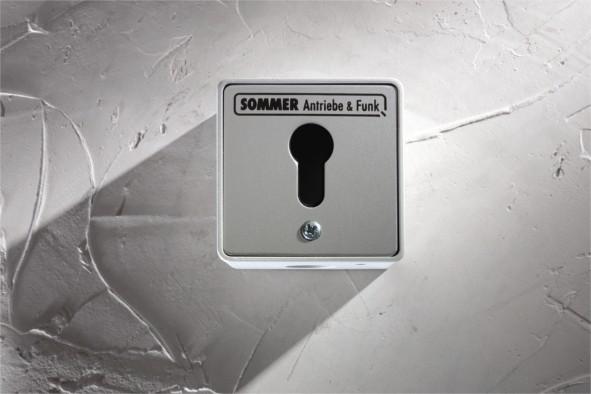 Sommer Schlüsseltaster AP ohne Zylinder