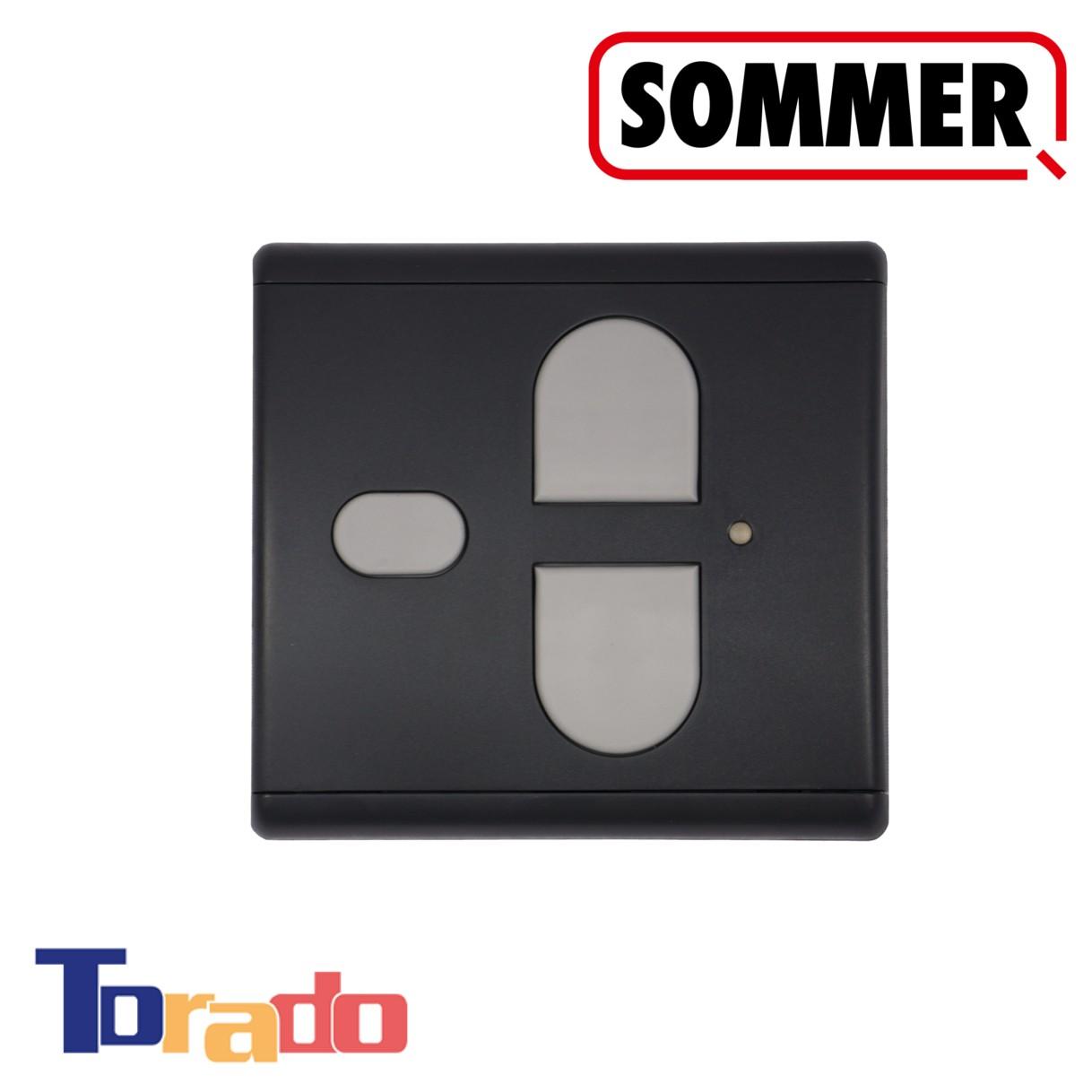 Sommer Funk-Wandtaster 3-Befehl 868 MHz anthrazit