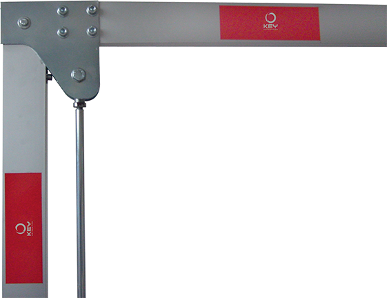 Marantec Elektromechanische Schranke PA4 inkl. Alu-Baum mit Knickgelenk max. 3 m