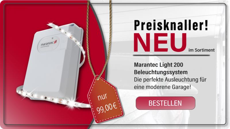 Marantec Light 200 - Beleuchtungs-LED für die Garage